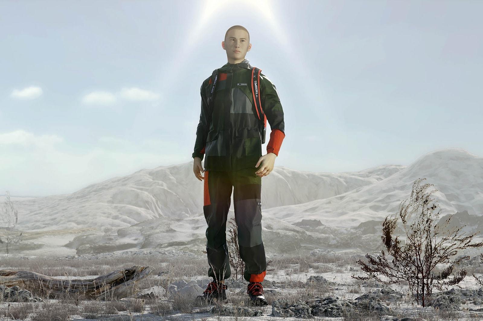 從廢棄軍用降落傘物料取得靈感之 TIMBERLAND X RÆBURN COLLECTION