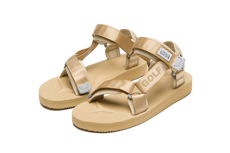 Suicoke 再度攜手 GOLF 重塑經典 DEPA-CAB 涼鞋款式