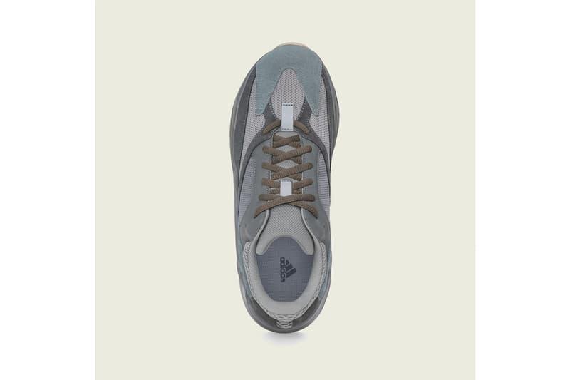 YEEZY BOOST 700「Teal Blue」最新發售日期公開