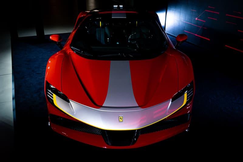 HYPEBEAST 近賞-Ferrari 史上最強混能超跑 SF90 Stradale 正式抵港