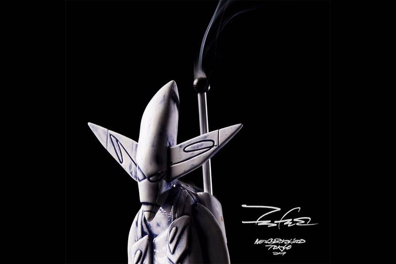 Futura x NEIGHBORHOOD 推出超限量「FL-001」香支座