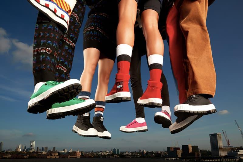 KENZO x Palladium 聯名推出別注「Pallashock By KENZO」鞋款