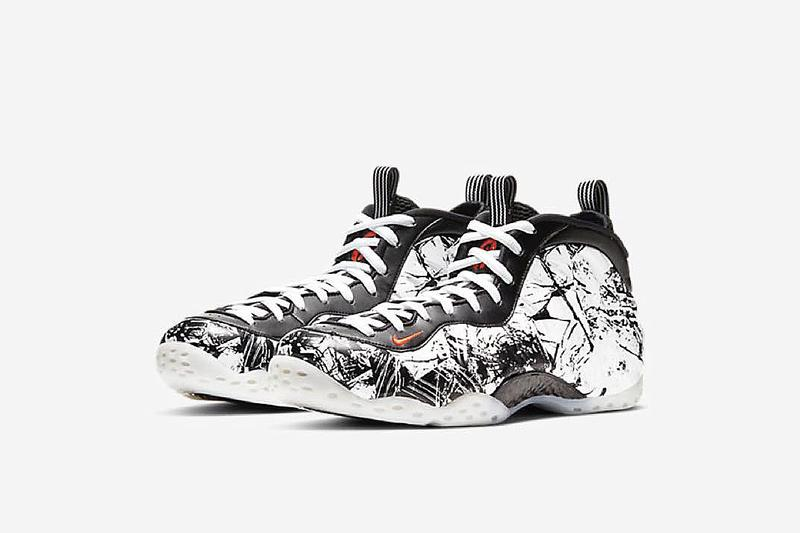 震撼碎裂效果-Nike 推出「爆板」Air Foamposite One「Shattered Backboard」