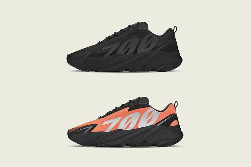 adidas 全新鞋款 YEEZY BOOST 700 MNVN 發售日期搶先公開