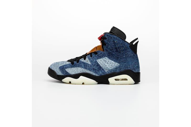 率先預覽 Air Jordan 6 最新配色「Washed Denim」