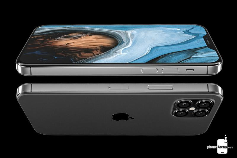PhoneArena 根據網絡流言所打造 Apple iPhone 12 之設計圖率先曝光