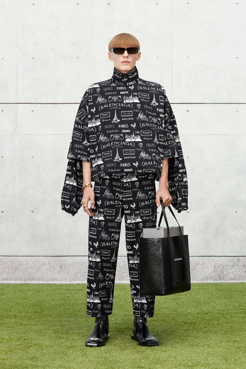 Balenciaga 2020 春季系列 Lookbook 發佈