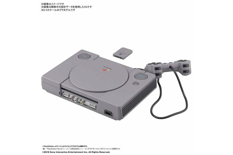 懷舊時光 − BANDAI 推出 2:5 比例 Sony 初代 PlayStation、Sega Saturn 復刻模型