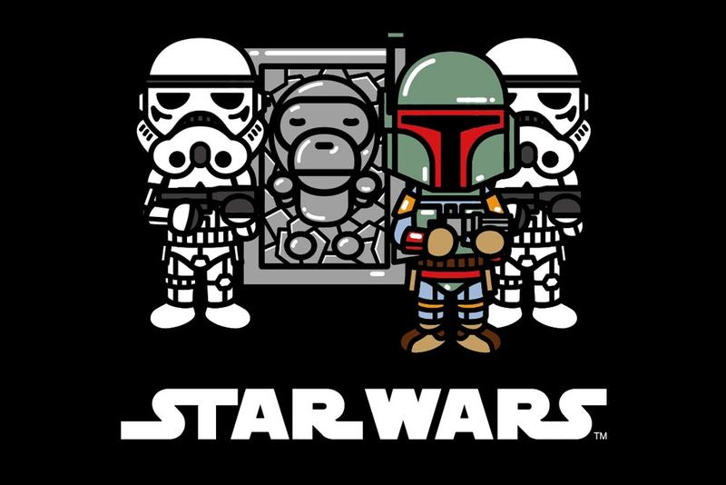 A BATHING APE® 再度合作《Star Wars》推出全新別注聯乘系列