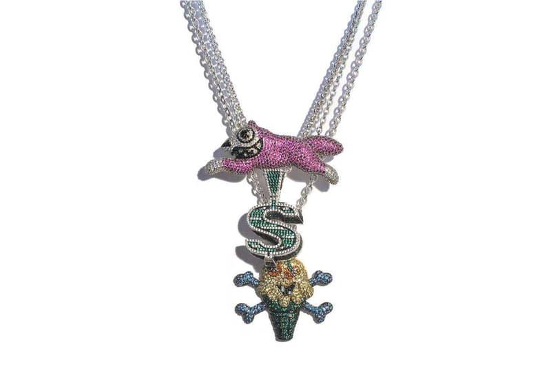 BBC ICECREAM x gh00o00st 聯手打造「NIGO 復刻款」珠寶項鍊
