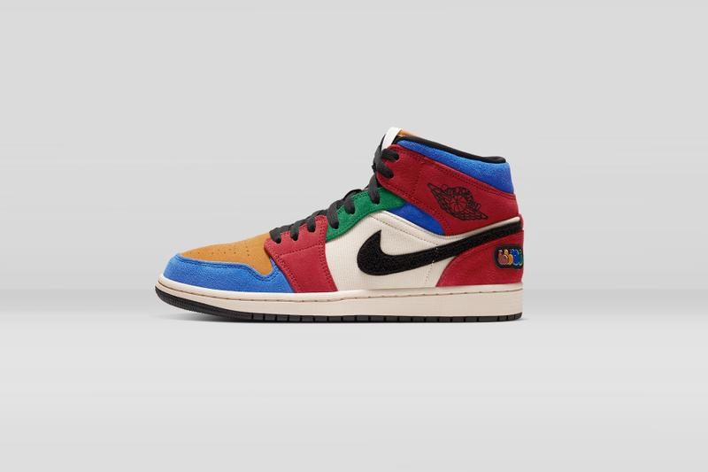 Blue The Great x Air Jordan 1 Mid Fearless 配色香港區抽籤情報公開