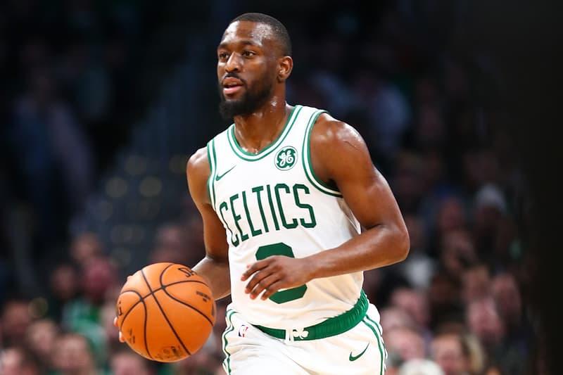 Boston Celtics 球星 Kemba Walker 因頭部撞擊被以擔架抬出球場