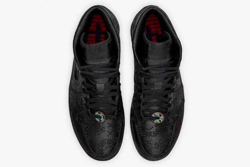 黑魂降臨-CLOT x Air Jordan 1 Mid「Fearless」迎來 DSM London 十五周年別注版
