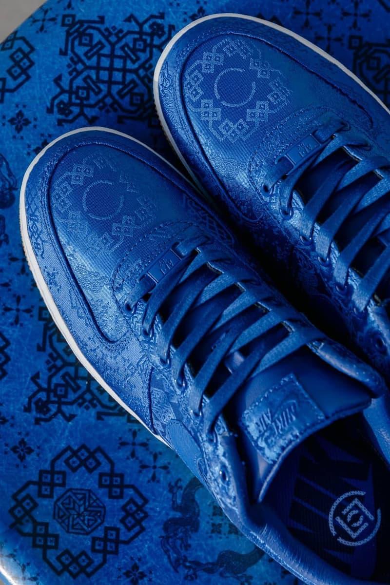 家品都要潮-CLOT x Modernica 聯手限量謹製「藍絲綢」貝殼椅