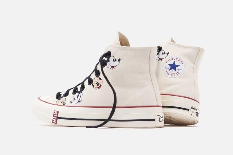 KITH 正式發佈 Converse x Disney 三方聯乘鞋款系列