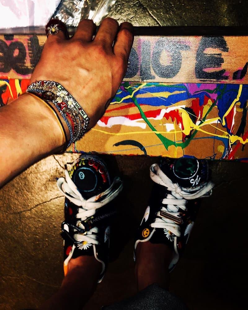 G-Dragon 權志龍疑似曝光 Nike x PEACEMINUSONE 最新聯名鞋款