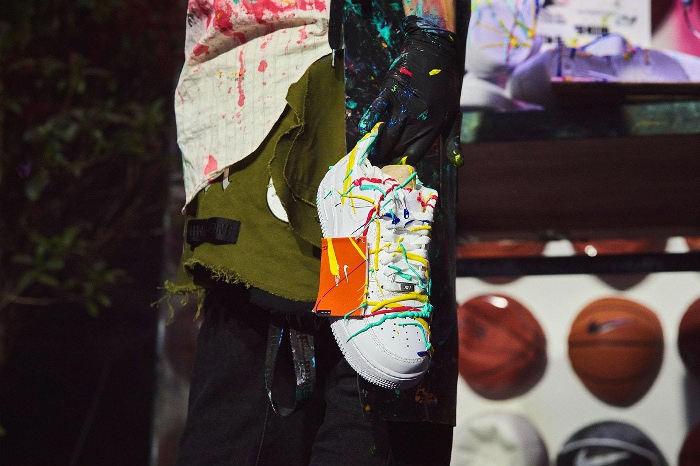 走進 PEACEMINUSONE x Nike Air Force 1「Para-Noise」發佈派對