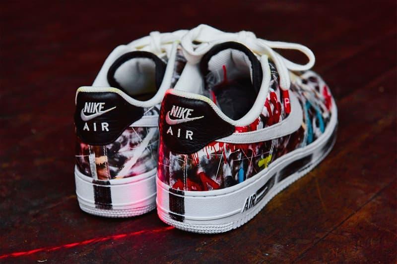 PEACEMINUSONE x Nike Air Force 1「PARA?NOISE」真實設計面貌正式公開