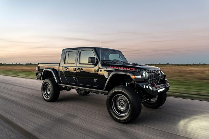 Hennessey Performance 千匹制動馬力 Jeep Gladiator 改裝車型發佈