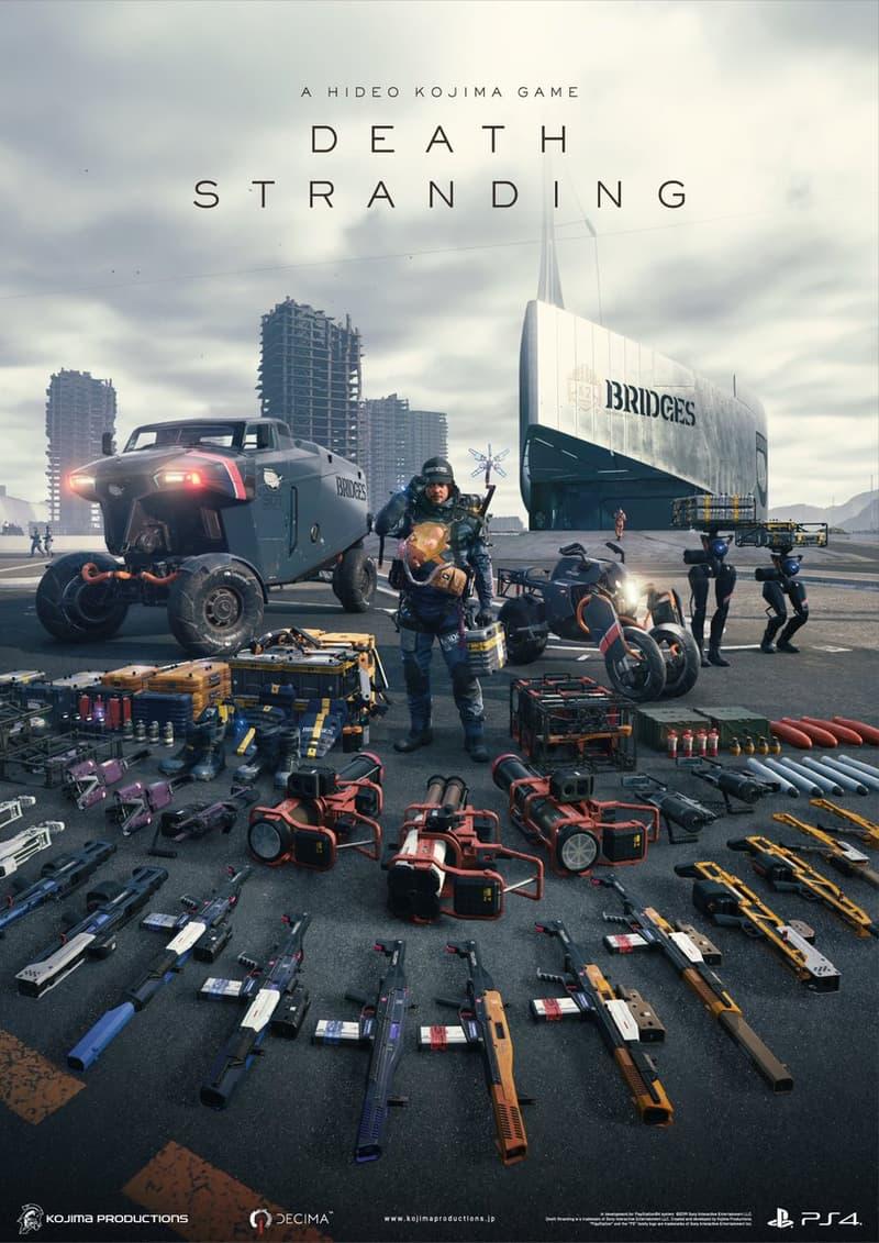 小島秀夫公開《Death Stranding 死亡擱淺》多張遊戲海報