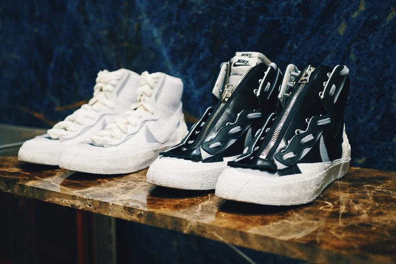 sacai x Nike Blazer 黑白雙配色香港專門店發售情報