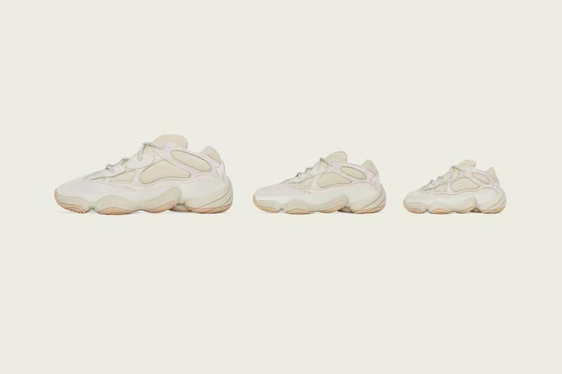 adidas Originals YEEZY 500「Stone」配色發售日確認