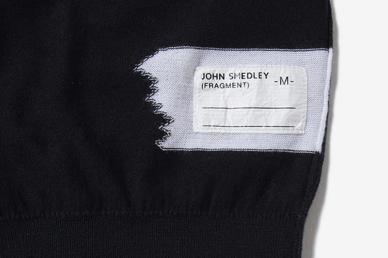 教父的新衣-fragment design x John Smedley 推出聯乘毛衣系列