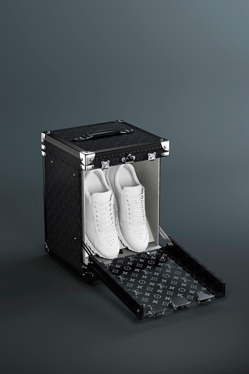 堆砌浮華-Louis Vuitton 推出自家版單對球鞋鞋箱