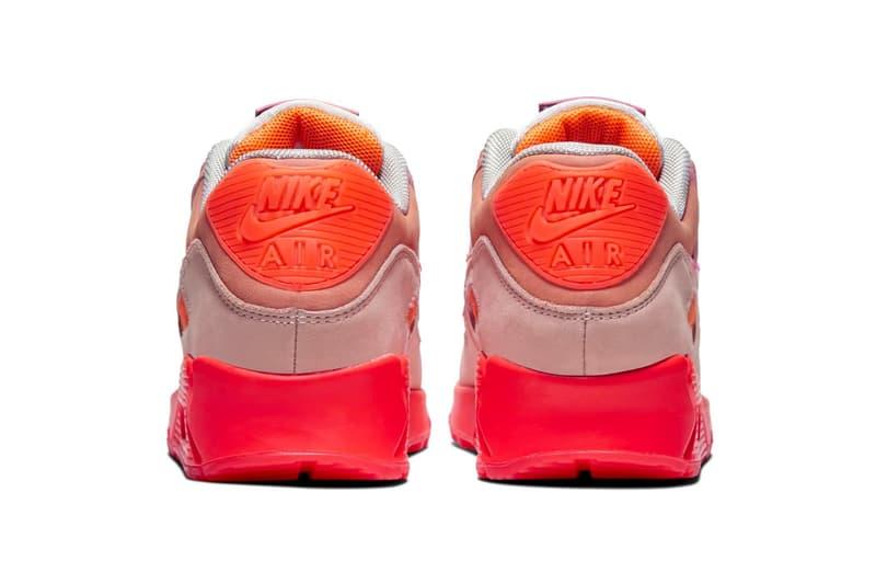 Nike 推出全新粉色系 Air Max 90 Premium
