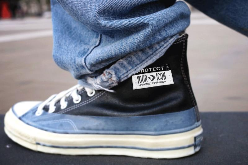 One Block Down 聯乘 Converse 推出「Protect Your Icon」Chuck 70 鞋款