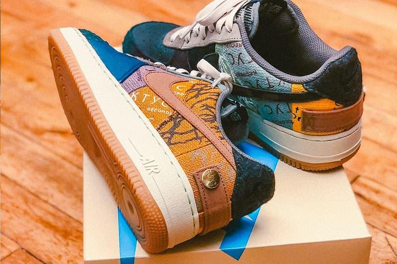 Travis Scott x Nike 聯名 Air Force 1「Cautus Jack」將迎來別注特製鞋盒