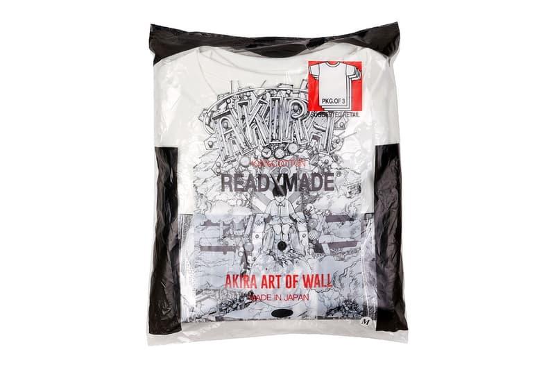 READYMADE 推出《AKIRA ART WALL PROJECT》別注 Tee Pack
