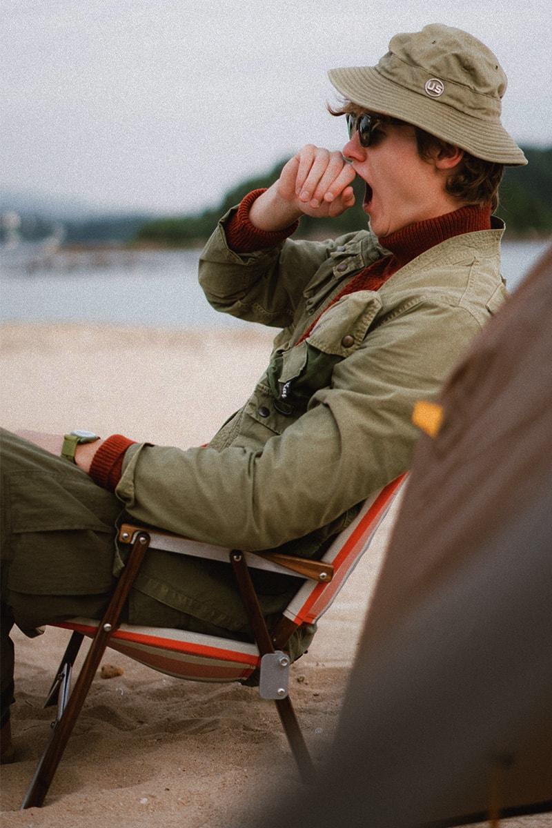 One Day Camping・HYPEBEAST 製作美式軍服造型特輯