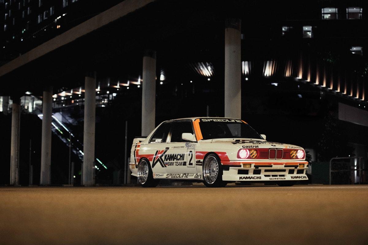 復刻 1989 年「KAMACHI 拉花」版 BMW E30 M3|THROTTLE