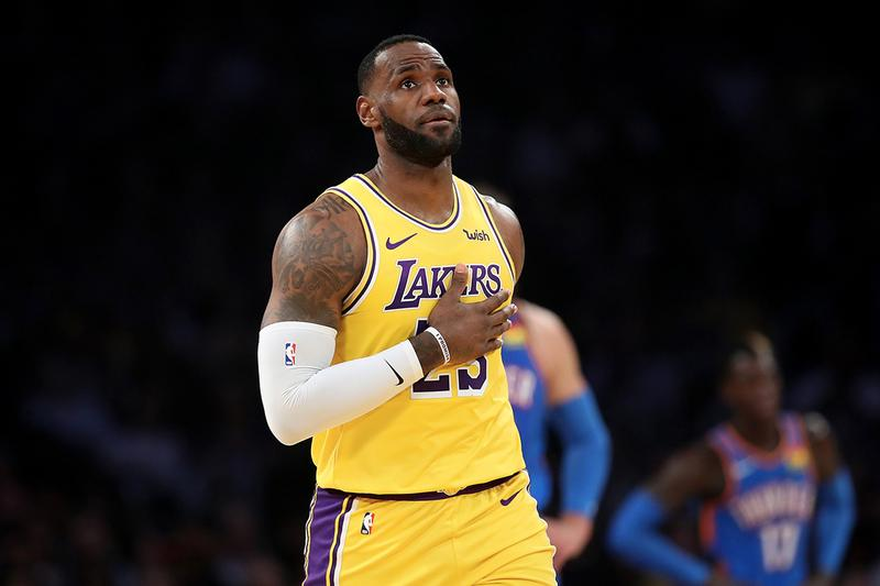 LeBron James 成為 NBA 第一位面對 30 支球隊皆有大三元紀錄的球員