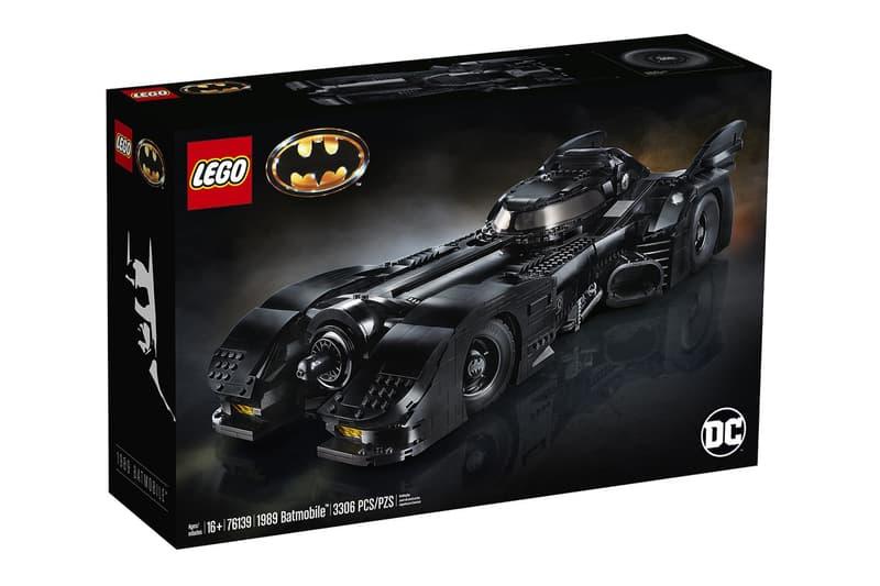 細節還原 − LEGO 推出長達 60 公分之 1989 年《Batman》蝙蝠車積木模型