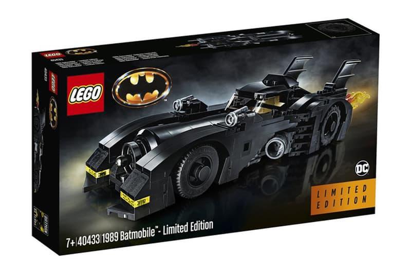 LEGO 推出 1989 年樣式蝙蝠車積木模型套裝