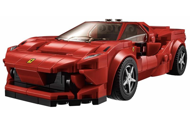 Lego Speed Champions 推出ferrari F8 Tributo 超跑積木模型
