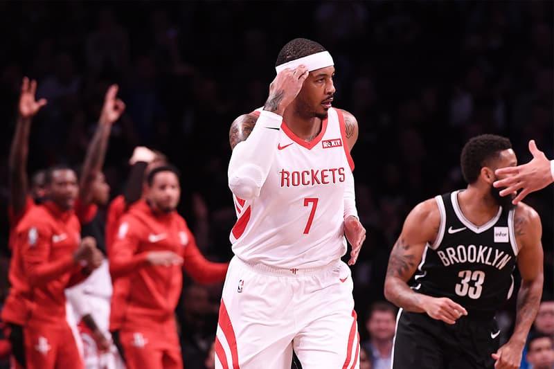 NBA 眾星回應 Carmelo Anthony 回歸加盟 Portland Trail Blazers