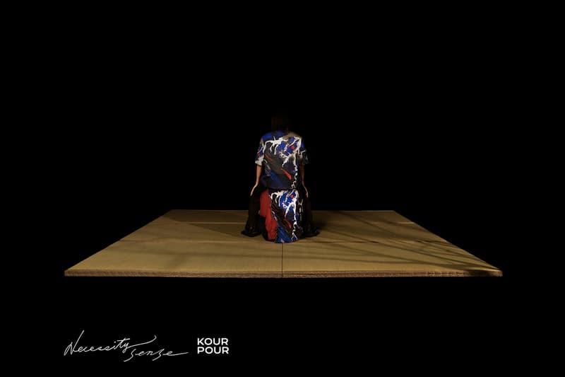 Necessity Sense 攜手知名抽象藝術家 Kour Pour 打造最新聯名系列