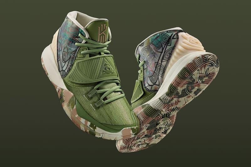 11 個城市、11 個配色!Nike 攜手 Kyrie Irving 推出 KYRIE 6「首發陣容」系列