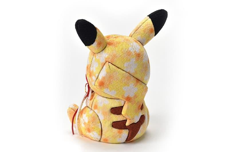 Nintendo 聯手日本職人打造別注 Pikachu 傳統工藝玩偶
