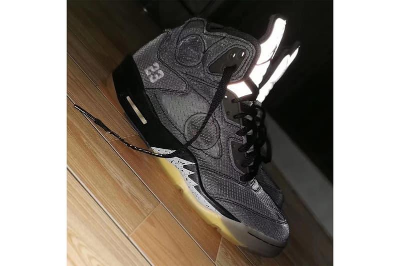 率先預覽 Off-White™ x Air Jordan 5 全新聯乘最新諜照