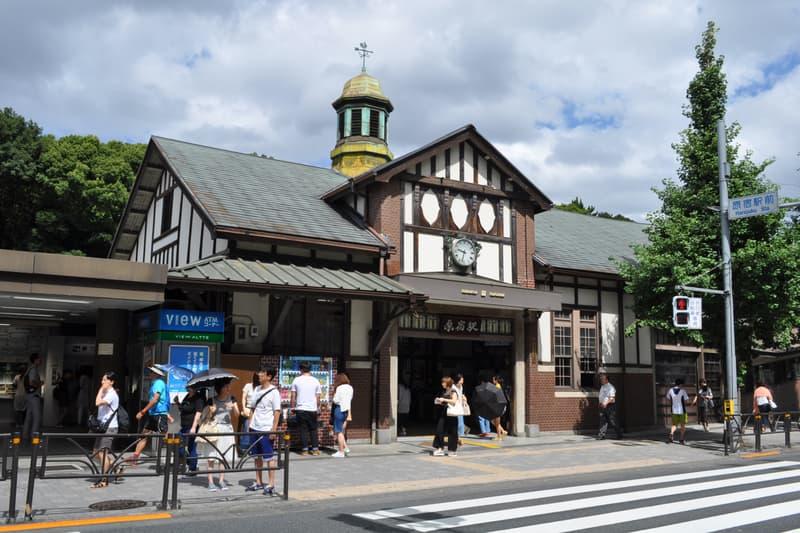 近百年老木建築-日本 JR 原宿駅因不符合防火規定而將拆卸重建