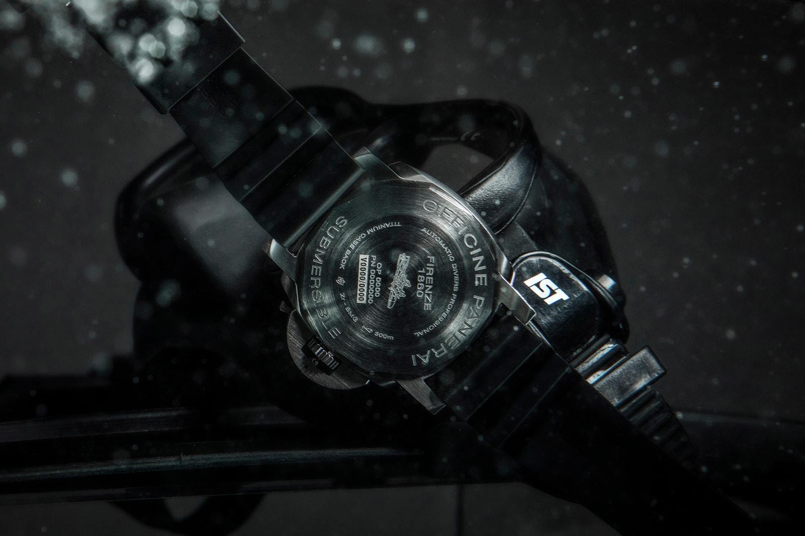海洋愛好者的夢想隨身配件 PANERAI Submersible