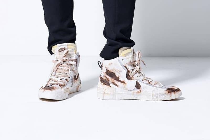 日本選品店 Principe Privé 打造「鐵鏽版本」sacai x Nike Blazer 高筒鞋款