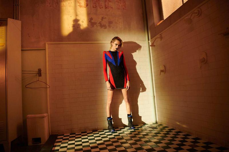 Cara Delevingne 演繹 PUMA x Balmain 聯乘系列全新宣傳大片