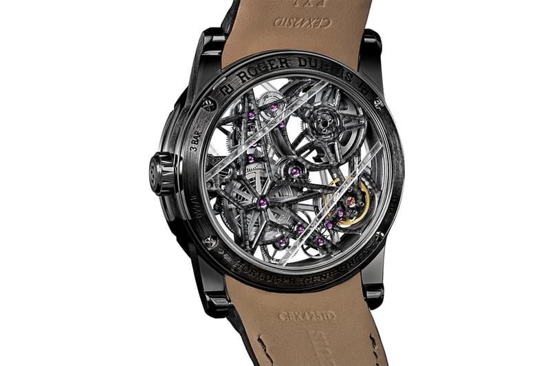 Roger Dubuis 全新 Excalibur Blacklight 鏤空系列腕錶發佈