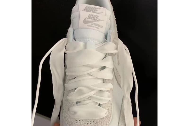 搶先預覽 sacai x Nike LDWaffle 最新全白配色