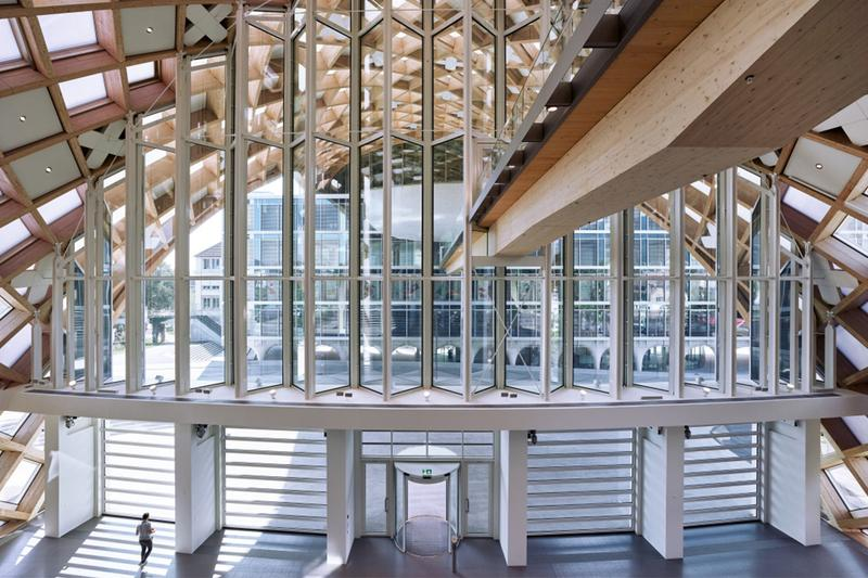木の建築-走進 Swatch 瑞士比爾新總部